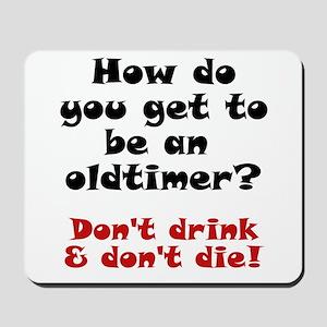 AA Oldtimer shirt Mousepad