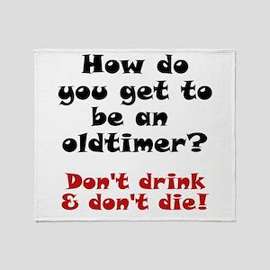 AA Oldtimer shirt Throw Blanket