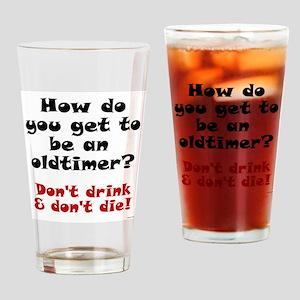 AA Oldtimer shirt Drinking Glass