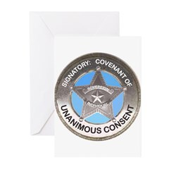 Sovereign & Covenant Badge Greeting (Pk of 20)
