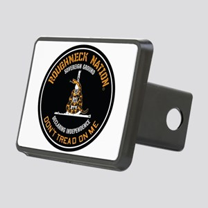 COILED RIG LOGO Rectangular Hitch Cover
