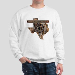 TEXAS RIG UP CAMO Sweatshirt