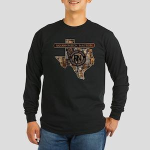 TEXAS RIG UP CAMO Long Sleeve T-Shirt