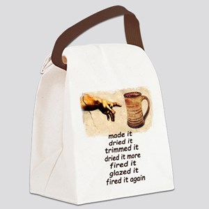 Mug Creation Canvas Lunch Bag