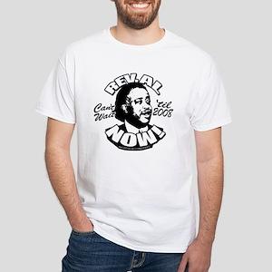 Rev. Al President NOW White T-Shirt