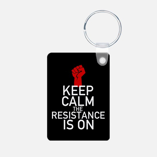 Resistance Keep Calm Keychains