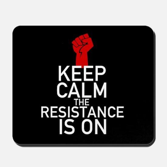 Resistance Keep Calm Mousepad
