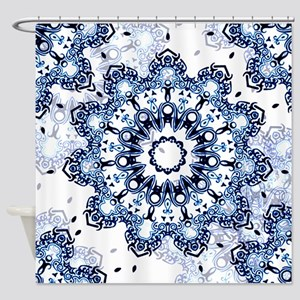 Summer Star Shower Curtain
