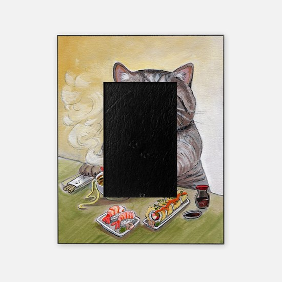 """""""Sushi Cat""""© Christin Picture Frame"""