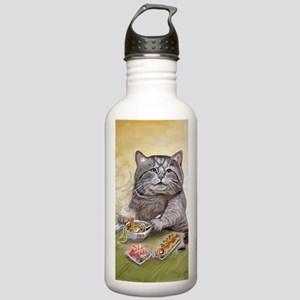 """Sushi Cat""& Stainless Water Bottle 1.0L"