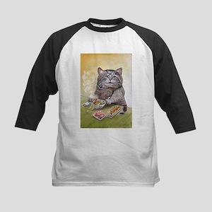 """""""Sushi Cat""""© Christ Baseball Jersey"""