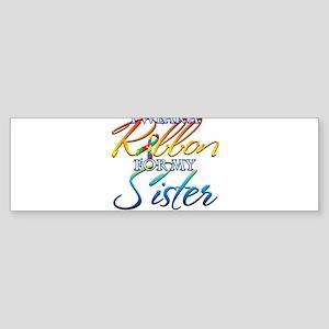 I Wear A Ribbon For Bumper Sticker