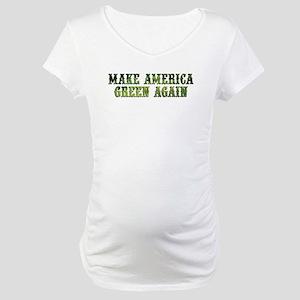 GreenAgainTransparent Maternity T-Shirt