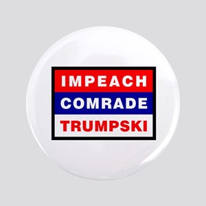 Impeach Comrade Trumpski Button