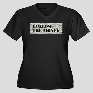 Follow the $$$ Plus Size T-Shirt