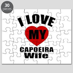 I love My Capoeira Wife Designs Puzzle