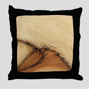 Leather Hide Look Throw Pillow