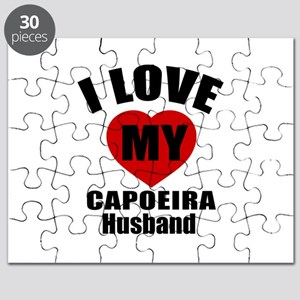 I love My Capoeira Husband Designs Puzzle