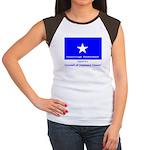Bonnie Blue, SI, CUC Women's Cap Sleeve T-Shirt