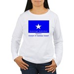 Bonnie Blue, SI, CUC Women's Long Sleeve T-Shirt