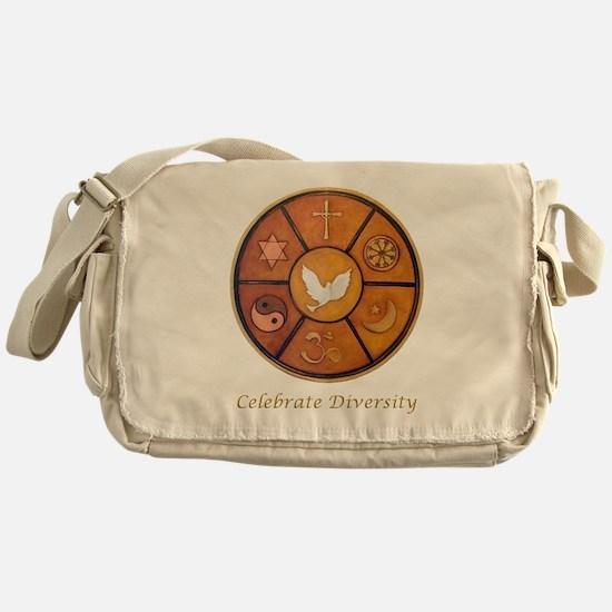 Interfaith, Celebrate Diversity - Messenger Bag