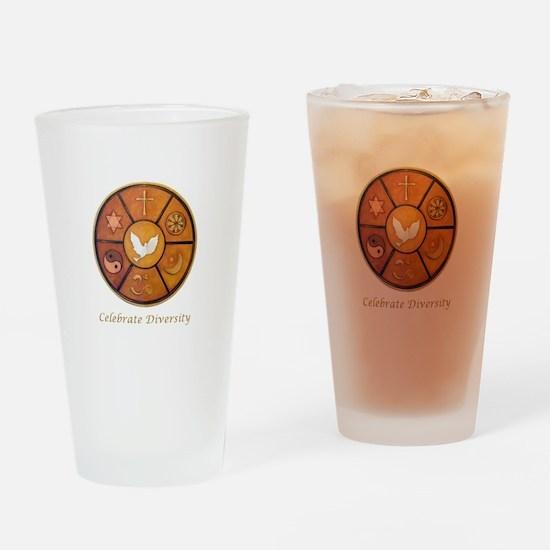 Interfaith, Celebrate Diversity - Drinking Glass