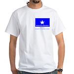 Bonnie Blue, SI, CUC White T-Shirt
