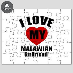 I Love My Malawian Girlfriend Puzzle