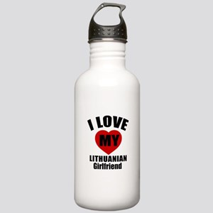 I Love My Lithuanian G Stainless Water Bottle 1.0L