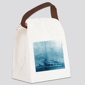 Smoke Curling on Wall by Michelle Canvas Lunch Bag