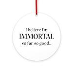 Immortal Ornament (Round)