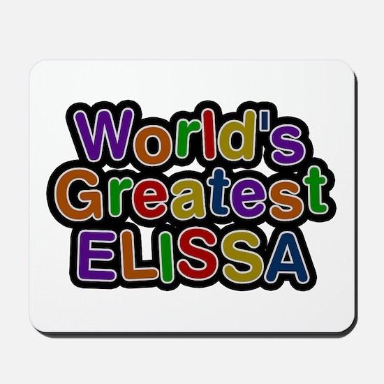 World's Greatest Elissa Mousepad