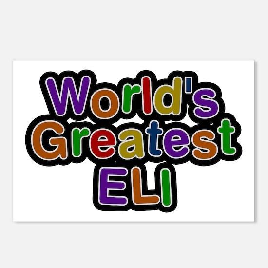 World's Greatest Eli Postcards 8 Pack