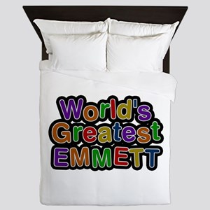 World's Greatest Emmett Queen Duvet