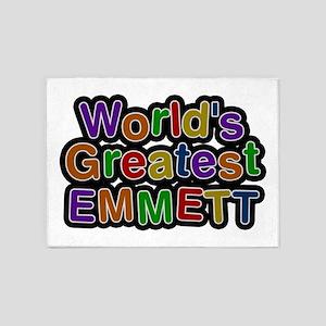 World's Greatest Emmett 5'x7' Area Rug