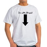I'm With Stupid Light T-Shirt