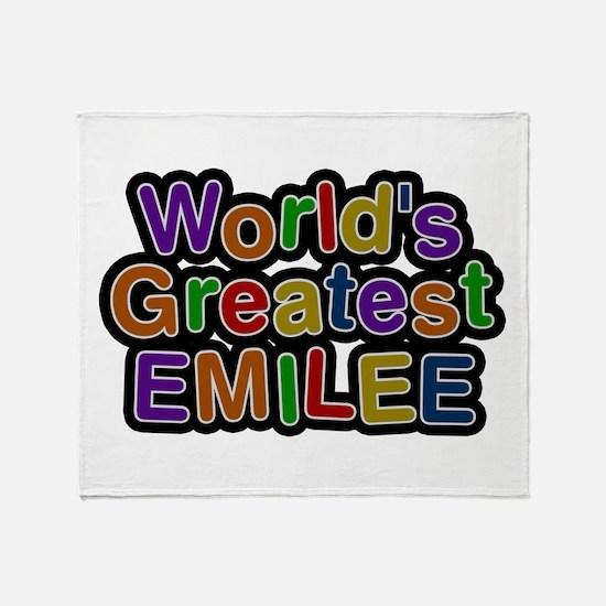 World's Greatest Emilee Throw Blanket