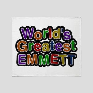 World's Greatest Emmett Throw Blanket
