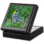Yellow-throated Warbler Keepsake Box