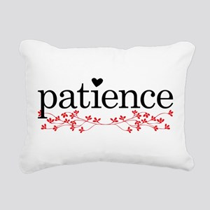 Patience Rectangular Canvas Pillow