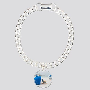 Beach Life Charm Bracelet, One Charm