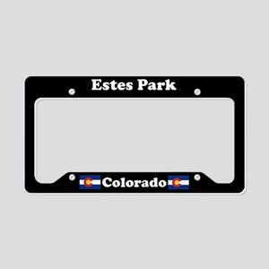 Estes Park CO License Plate Holder