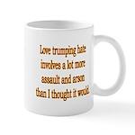 Love Trumping Hate Mug