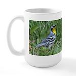 Yellow-throated Warbler Large Mug