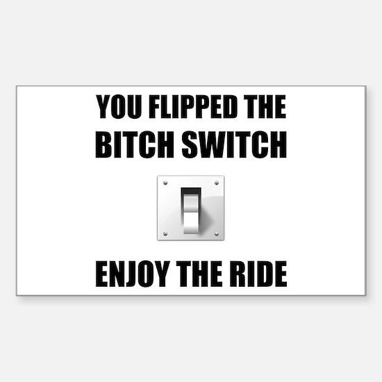 Bitch Switch Decal