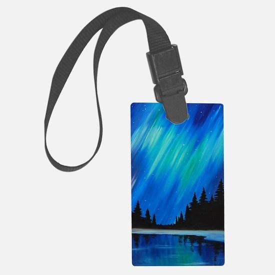 Funny Aurora borealis Luggage Tag