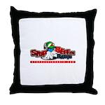 sbr logo Throw Pillow