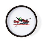 sbr logo Wall Clock