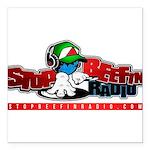 "sbr logo Square Car Magnet 3"" x 3"""