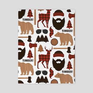 Lumberjack Design Twin Duvet